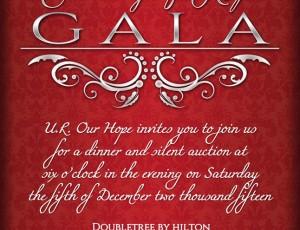 U.R. OUR HOPE – Charity Gala