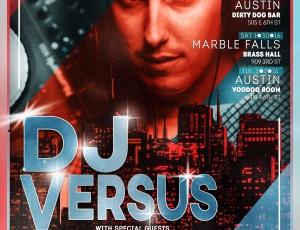 DJ Versus – Upcoming events