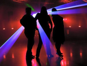 We offer light shows! Lasers, Fog, CO2, and more !