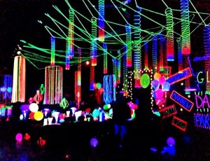 Book your black light party with us!