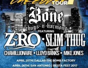 Get your tickets for the Slim Thug & Z-ro show! April 27th