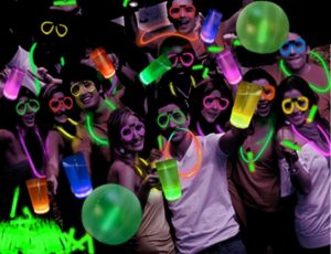 3rd annual Neon Glow Party